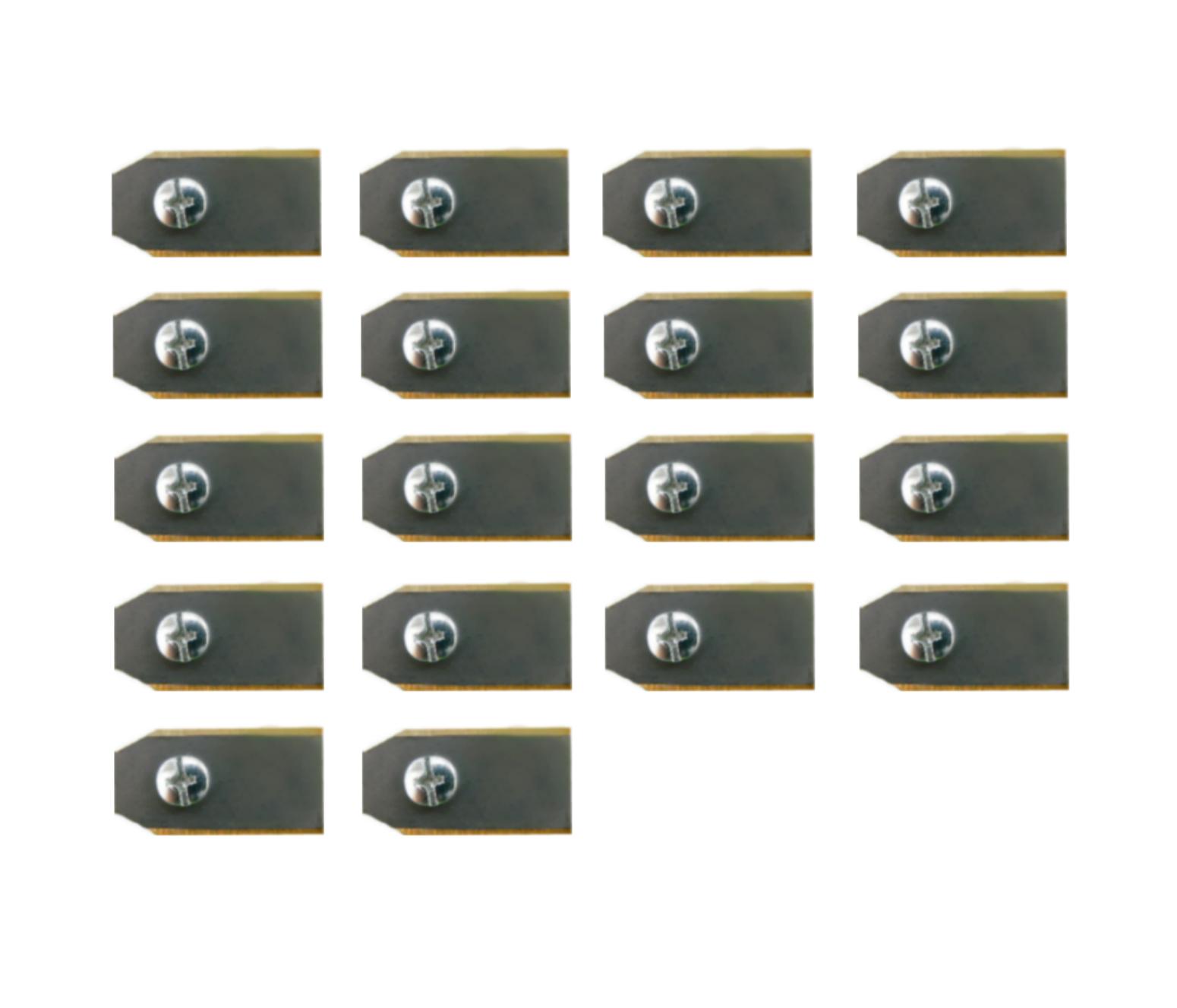18 Gardena titanium mesjes