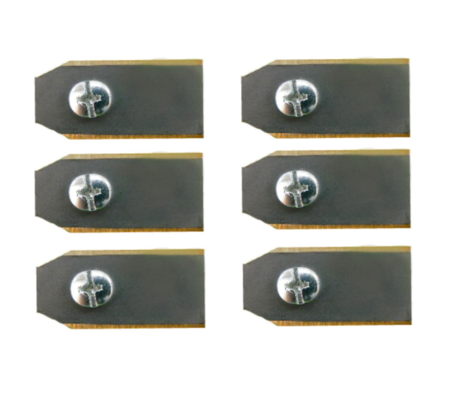 6 titanium Husqvarna mesjes