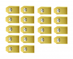 Robotmaaier Mesjes Husqvarna – Set Van 18 Geheel Titanium