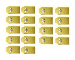 Robotmaaier Mesjes Husqvarna – Set Van 30 Geheel Titanium