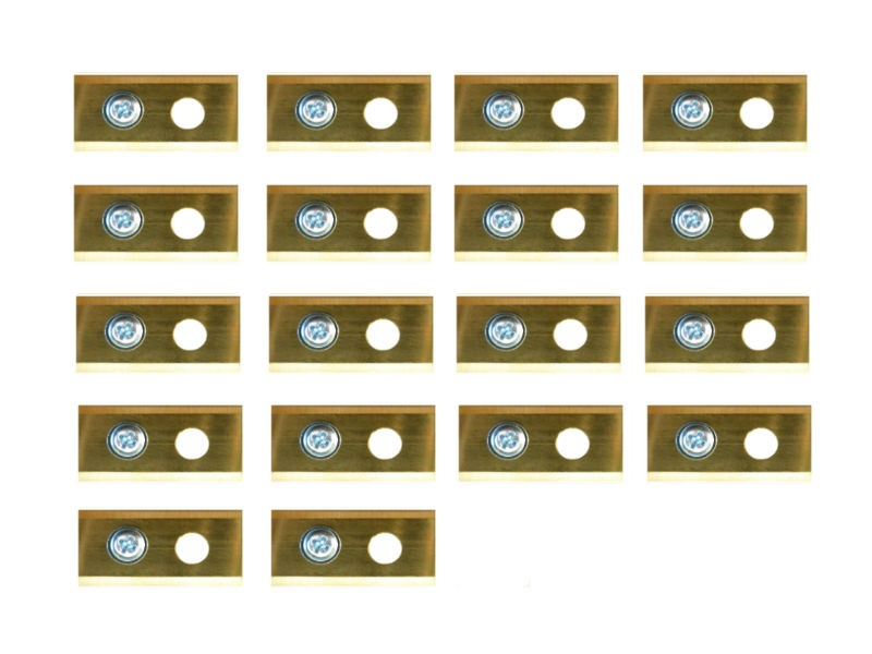 30 volledig titanium Worx Landroid mesjes