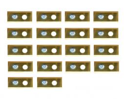Robotmaaier Worx Landroid Mesjes – Set Van 18 Volledig Titanium