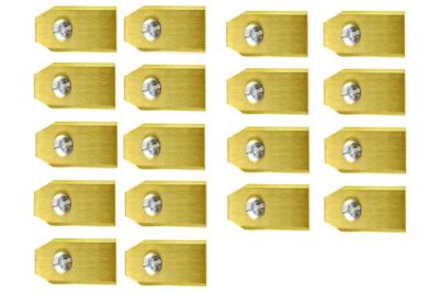Robotmaaier Mesjes Voor McCulloch – Set Van 60 Titanium Gecoat
