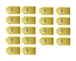 Robotmaaier Mesjes Yardforce – Set Van 30 Geheel Titanium