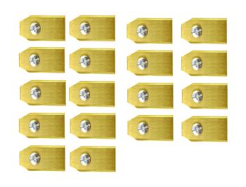Robotmaaier Mesjes Voor Mowox – Set Van 60 Titanium Gecoat