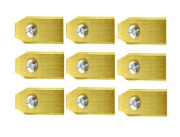 Robotmaaier Mesjes Voor Mowox – Set Van 9 Titanium Gecoat