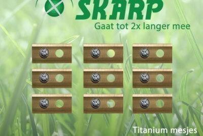 Skarp Robotmaaier Mesjes Voor Ferrex R800 Smart – Set Van 9